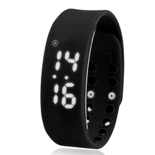 Smart Men Temperature Running sport Watch Multi-function woman students pedometer digital electronic Silicone wristband watches