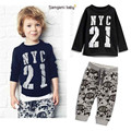 For Boys Girls Clothing Sets Bobo Choses Voetbal In kids Sports Suit Kids Hip Hop Tracksuit Set Next Child Long Sleeve Number