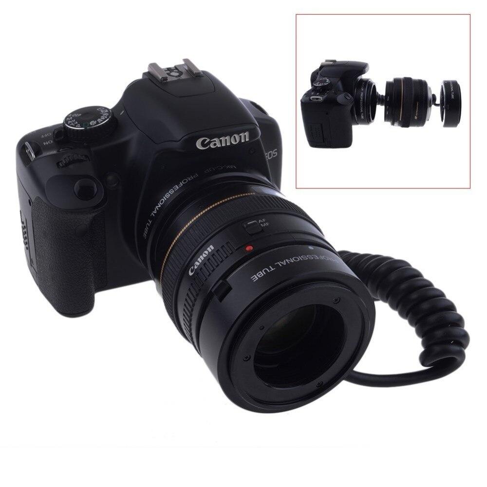 Mcoplus Meike MK-C-UP Auto Macro Tube d'extension AF adaptateur inverse pour appareil photo Canon EOS EF caméra de montage 6D 7D 60D 70D 1100D 650D - 6