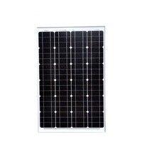 TUV Solar Panel 12v 60w Panneaux Solaire 24v 120w Solar Charger Camping Car Caravan Motorhome Solar Phone Light System LED