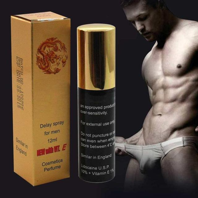 12ml Male Poweful Sex Delay Spray for Men External Use Prevent Premature Ejaculation Prolong 60 Minutes