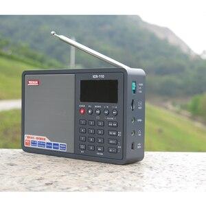 Image 4 - Tecsun ICR 110 радио FM/AM MP3 плеер Диктофон для пожилых людей цифровой аудио переносной полупроводник звуковая коробка Поддержка TF карта бесплатная доставка