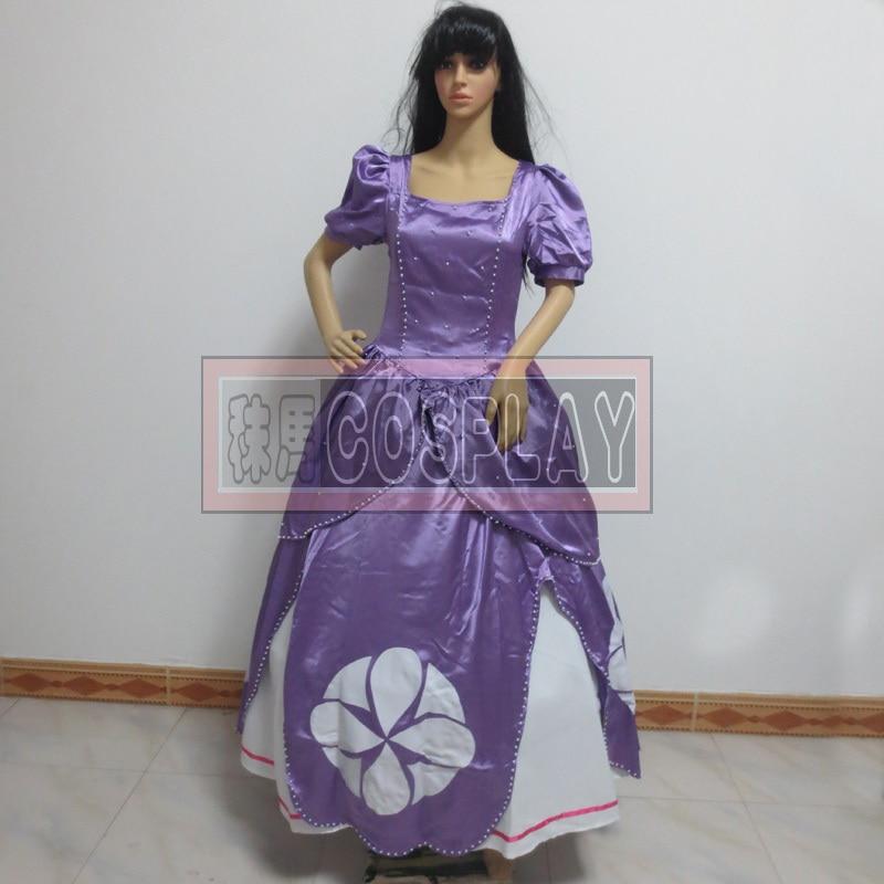 sofia the first cosplay costume custom made sofia princess dress for halloween costumechina - The First Halloween Costumes