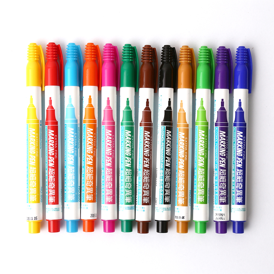 0-5-mm-12-Colors-Simbalion-800-Extra-Fine-Marker-Pen-Alcohol-Base-Ink-Permanent-Mark (5)