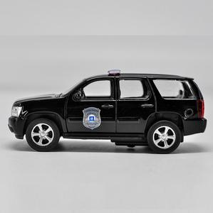 Image 3 - מכונית מודל סגסוגת 1:36 חיקוי גבוה, שברולט טאהו למשוך בחזרה מתכת רכב צעצוע, 2 דלת פתוחה מודל סטטי ברכב צעצוע, משלוח חינם