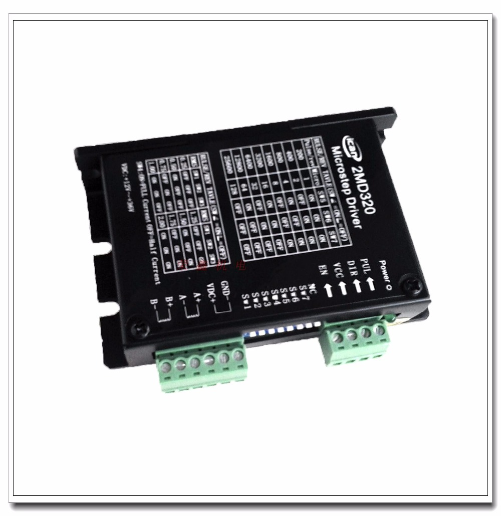 New model 2MD320 2-phase stepper motor driver 2A 128 resolution 42 57 stepper motor drive 2H42B (old model: 2MA320) 2 phase stepper motor and drive m542 86hs45 4 5n m new