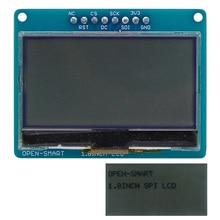 Открытый Смарт 3,3 В 1,8 дюйма 128*64 серийный SPI Монохромный ЖК-экран секционная плата модуль для Arduino Nano Pro Mini