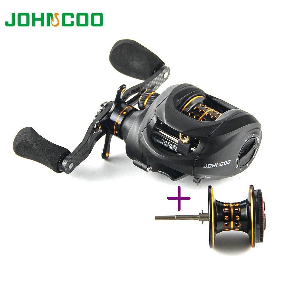 JOHNCOO Carbon Baitcasting Reel 13 1 BB 165g Super Light Casting Reel Bass Fishing Reel With