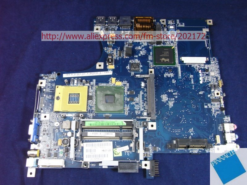 MBAXY02004 Motherboard for Acer aspire 5610 5630 Travelmate 4200 4300 LA-3081P HBL51 H23 tested good mbpec0b009 motherboard for acer aspire 3810t 3810tg 3810tz 6050a2264501 su2700 cpu tested good