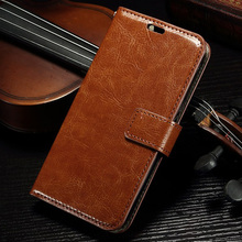 Luxury carzy horse PU leather wallet case For Alcatel One Touch Pop C7 7040 7040D 7041D retro flip stand phone cover Capa Para