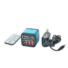 14MP HDMI 1080 P HD USB Numérique L'industrie Vidéo Microscope D'inspection Caméra Ensemble TF Carte Vidéo Enregistreur