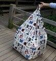 Los británicos del estilo de londres silla del bolso de haba jardín Camping bolsas de frijoles cubiertas Lazy sofá cualquier portátil sentado cojín