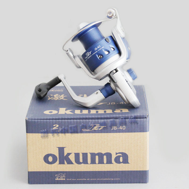 Okuma fishing reel jet-jb40 spinning wheel ultra-thin fishing wheel lure wheel fishing round