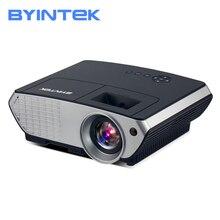 BYINTEK BL126 Smart HDMI LCD Home Theater HD Video Portable LED Projector byintek rd804 dvbt2 atv 1280x800 digital cl720 wxga 1080p video lcd portable home theater hdmi hdtv usb video led hd projector