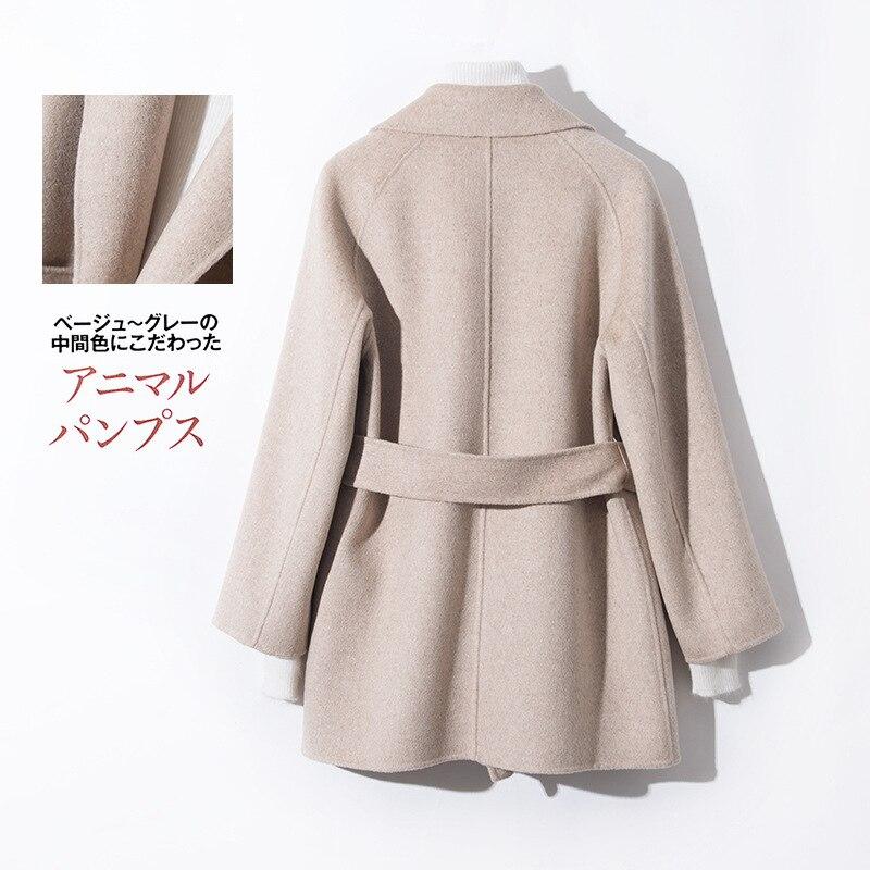 Abrigo 100 lana mujer