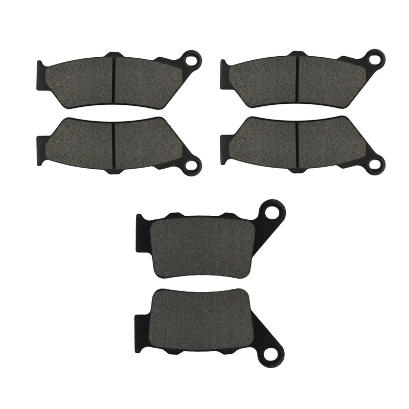 Motorcycle Parts Front & Rear Brake Pads Kit for BMW F800GS  2008-2009 Metal & Brass Alloys motorcycle front and rear brake pads for honda vt250fl spada castel 1988 1990