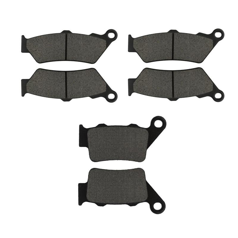 Мотоцикл частей Передние и задние Тормозные колодки комплект для BMW F800GS 2008-2009 металлического и Латунного сплавов