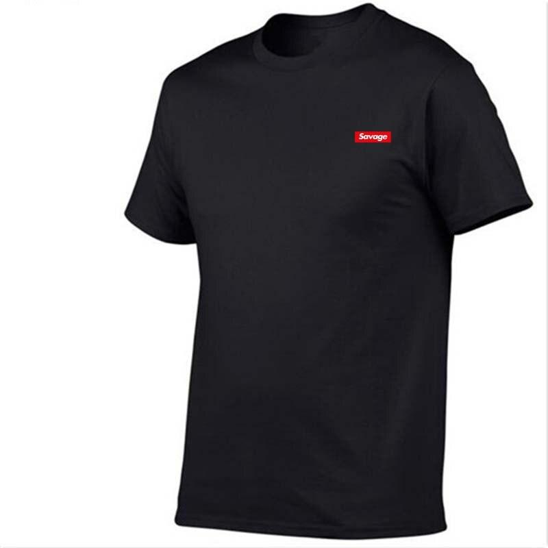 O-Neck Short Sleeves Summer Casual T-shirt SAVAGE Asian Size Men And Women Print 21 Sava ...