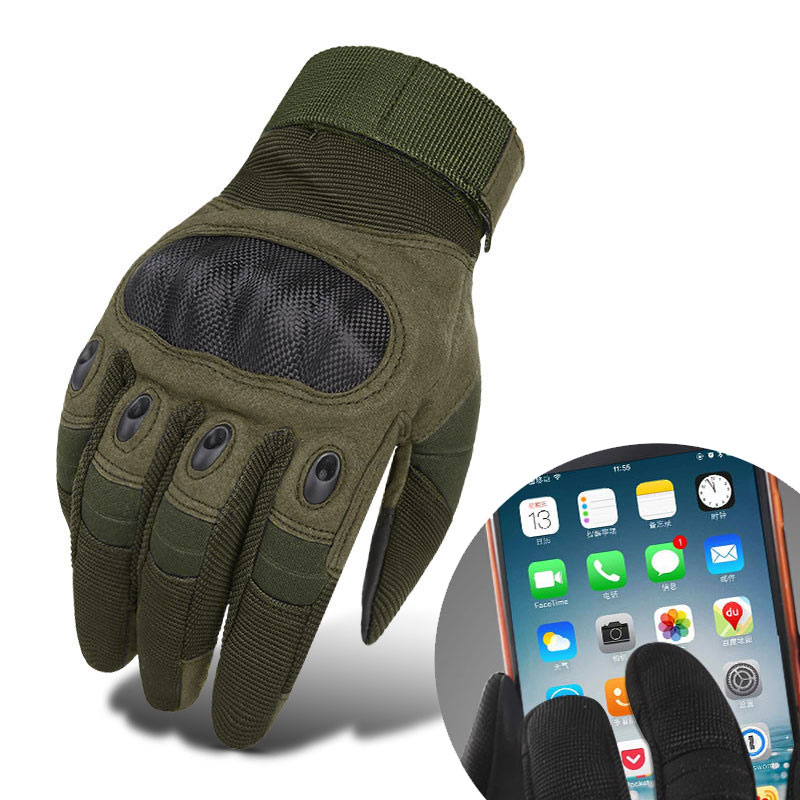 Tactical Gloves Outdoor Touch Screen Gloves Army Military Gear Paintball Shooting Airsoft Combat Anti-Skid Full Finger Gloves