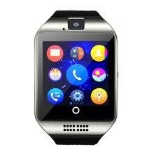 1,54 zoll HD Touchscreen Smart uhr Q18 smartwatch mit Kamera SIM TF Karte Bluetooth 3,0 Smart Uhren für Android IOS Telefon