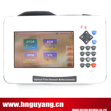 SM Mini OTDR Fiber Optic , 35/33dB, 1310/1550nm, built-in VFL power meter, 5 inch Touch Screen, with Carrying Bag