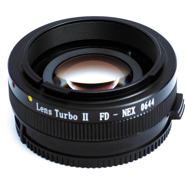Mitakon Zhongyi Lens Turbo II Focal Reducer Speed Booster Adapter for Canon FD Lens to Sony E Mount Camera NEX A6000 A6300 A6500