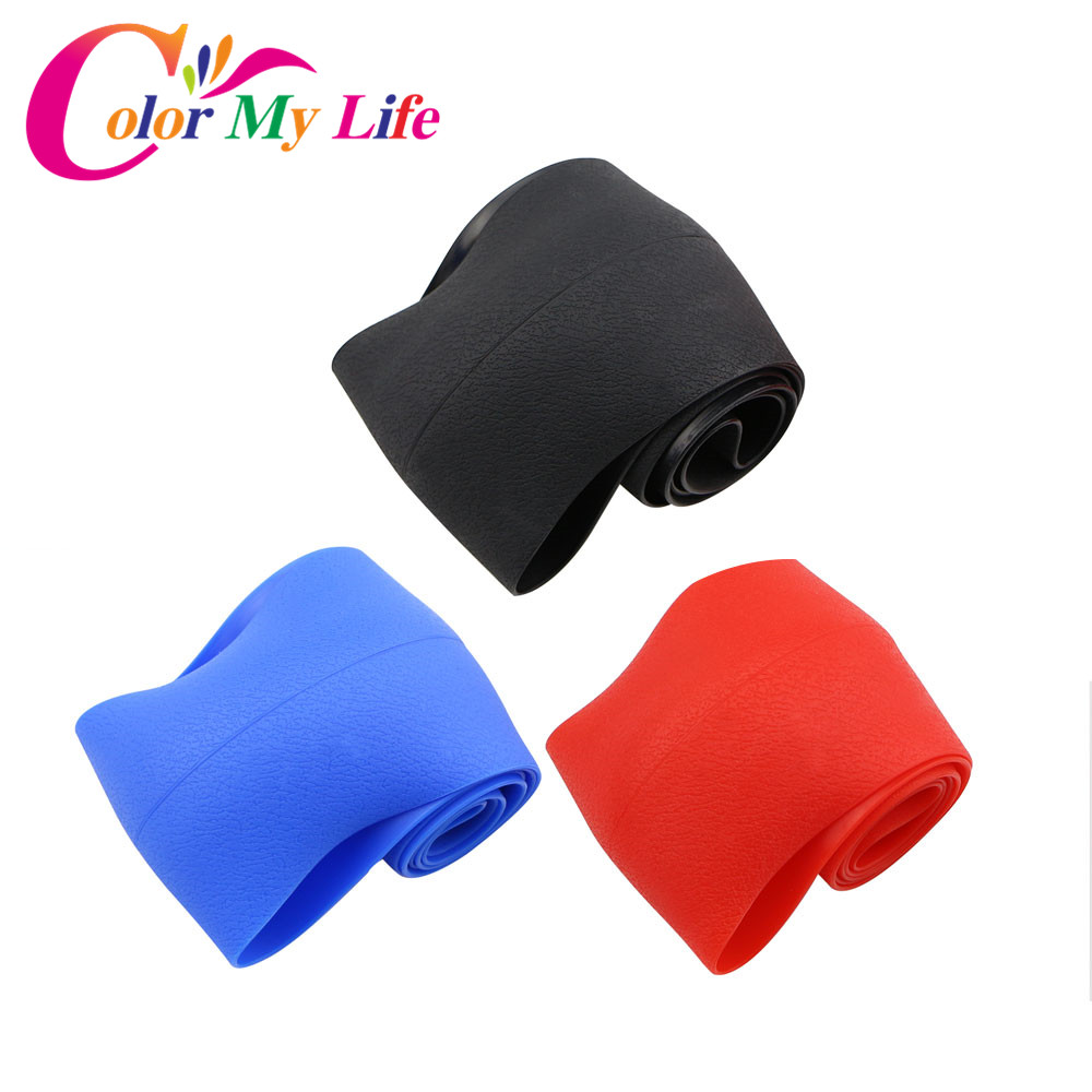 Color My Life Silicone Car <font><b>Steering</b></font> <font><b>Wheel</b></font> Protection Cover for <font><b>Peugeot</b></font> 206 307 406 407 <font><b>207</b></font> 208 308 508 2008 3008 4008 6008 image