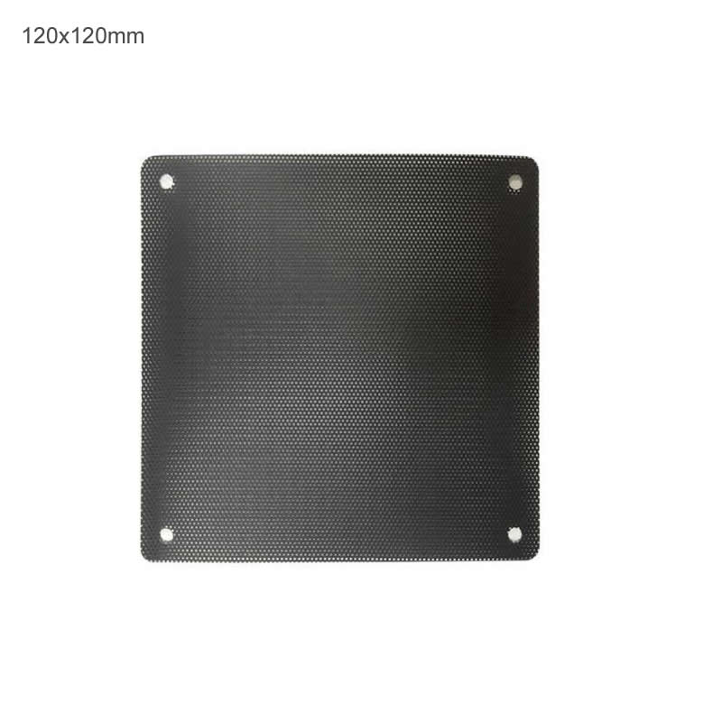 12pcs/lot 120x120mm 90mmx90mm 80x80mm 70x70mm 140x140 Computer PC Dustproof Cooler Fan Case Cover Dust Filter Cuttable Mesh Fits