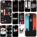 Twenty One Pilots 21 Pilots band Hard Case Transparent for iPhone 7 7 Plus 6 6s Plus 5 5S SE 5C 4 4S