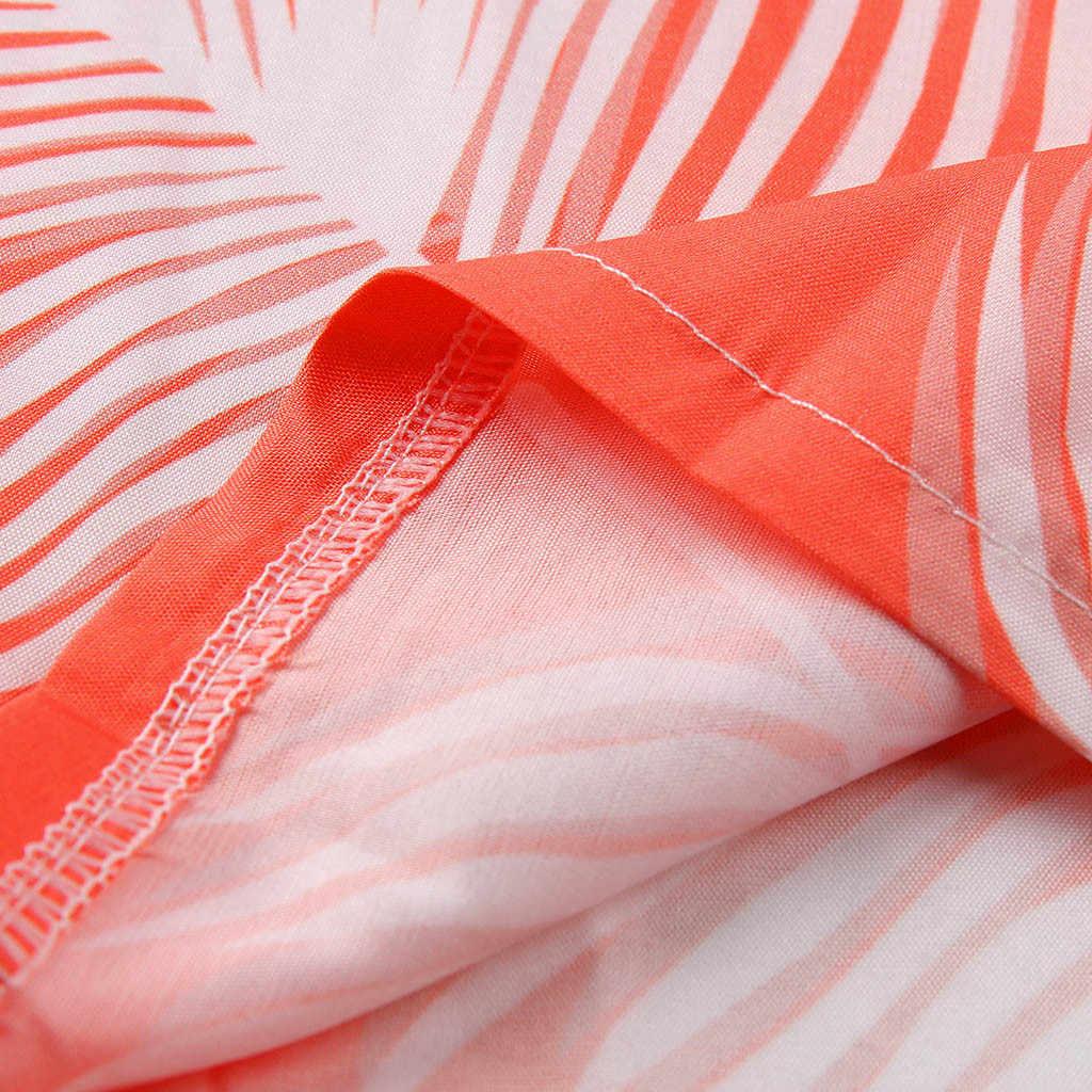 Женский Летний комбинезон Modis с принтом, с открытыми плечами, с вырезом лодочкой, с коротким рукавом, с запахом, на груди, сексуальный комбинезон Boho, костюм пляжного типа Curto
