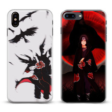 Naruto's Phone covers for iPhone X 8Plus 8 7Plus 7 6sPlus 6s 6Plus 6 5 5S SE 4s 4