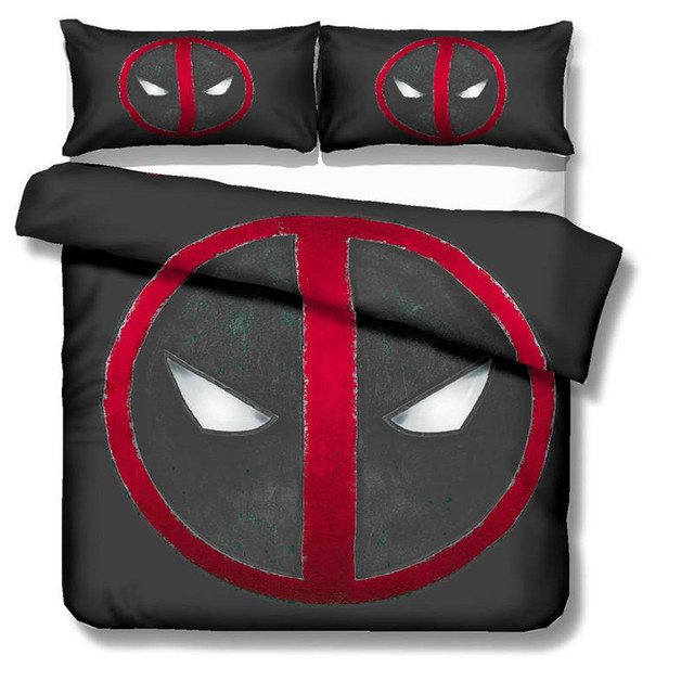 Deadpool Bed Set Covers and Pillowcases (8 Different Designs) 5
