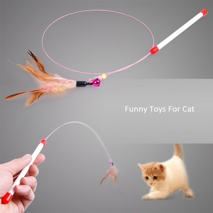 Feather Rop Cat Training Tools