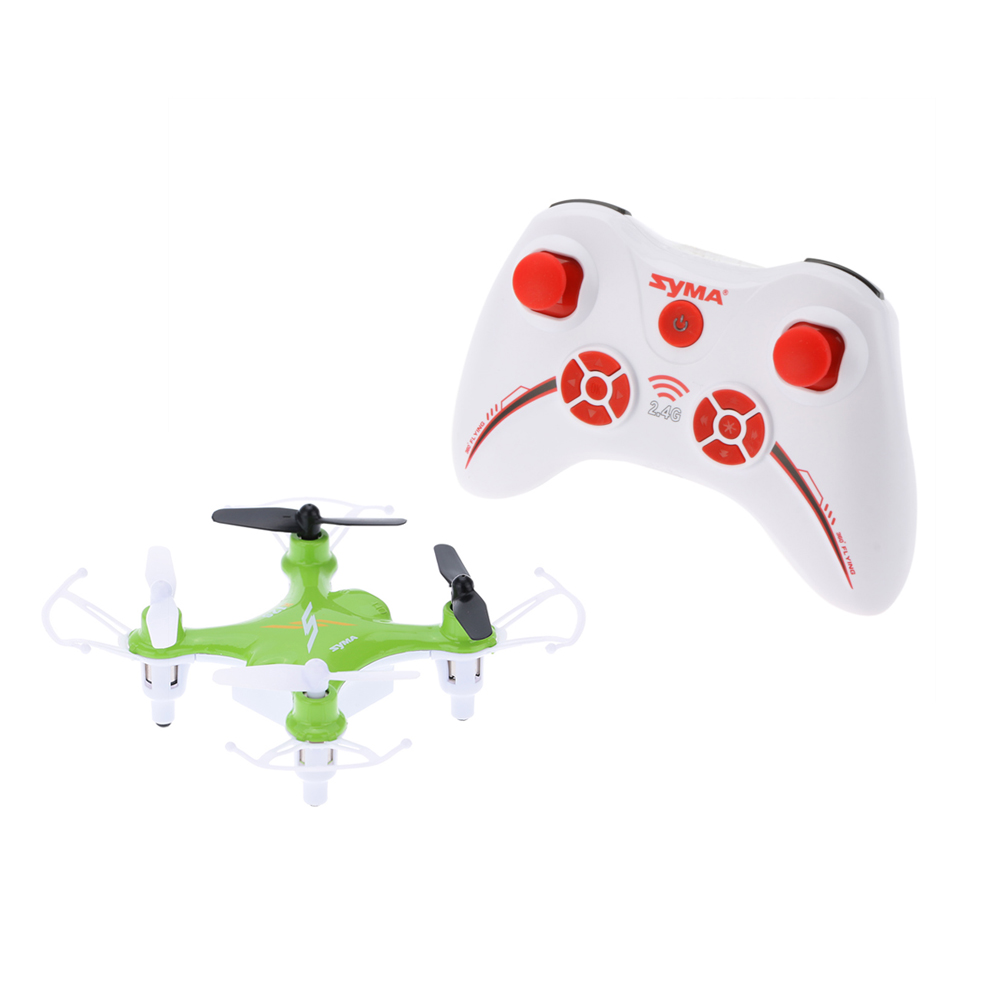 SYMA X12S 4CH 6 Axis Gyro 2 4GHz Remote Control Helicopter 360 Eversion Headless Mode Nano