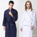 The hotel for spring and summer lovers waffle bathrobe bathrobe cotton cotton robe with spring fertilizer XL