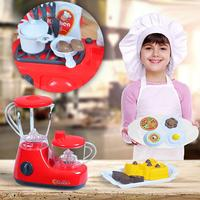 LeadingStar Simulate Kids Kitchen Home Appliances Toy Set Play House Tableware Puzzle Simulation Kitchen Toys Gift Ornament