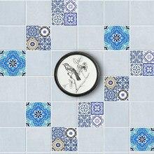 20 Teile/satz PVC Wandaufkleber Bad Wasserdicht Selbstklebende Tapete Küche  Mosaik Fliesen Aufkleber Für Wände Aufkleber Wohnkul.
