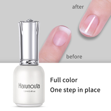 Harunouta 12ml Soak Off Base Coat Gel Polish Nail Primer Dehydrator without a Sticky Layer Acrylic Manicure