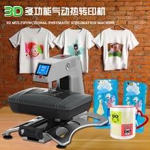 ST-420 3D Sublimation Heat Transfer Machine 3D Vacuum Heat Press Machine Sublimation Printer for Cases Mugs T shirts Plates