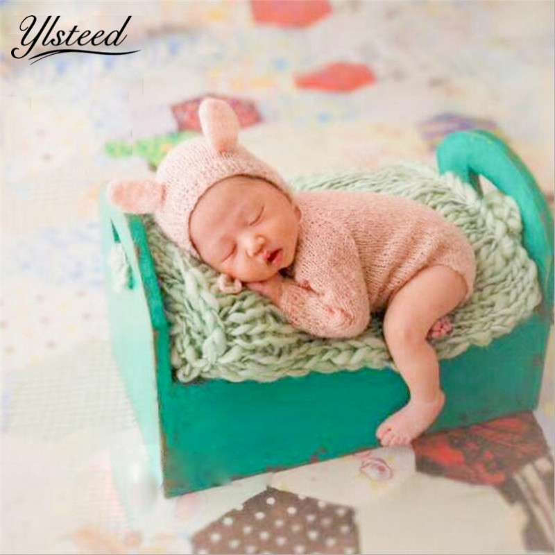 Crochet Newborn Photography Outfits Baby Hat Romper Set Infant Photoshoot Props Newborn Photography Clothes Baby Shower Gift newborn baby photography props infant knit crochet costume peacock photo prop costume headband hat clothes set baby shower gift page 4