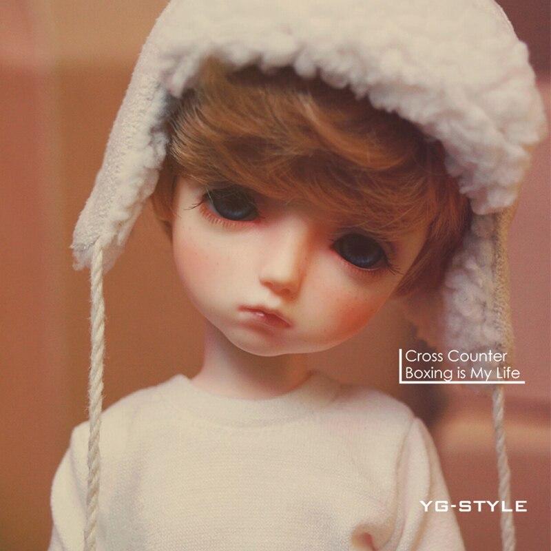 ФОТО OUENEIFS bjd sd doll be with you Potato 1/6 yosd body resin model reborn baby boys dolls eyes High Quality toys shop gift box