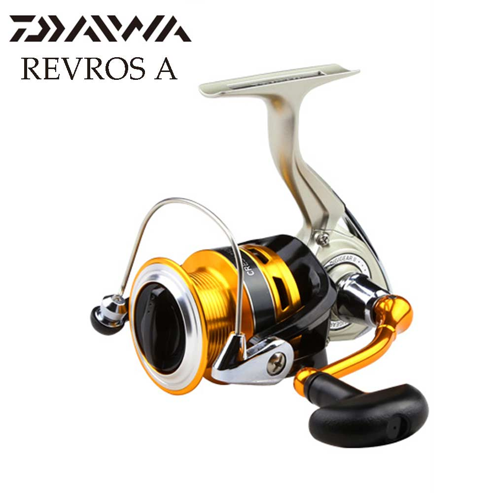 DAIWA REVROS SPINNING Fishing reel Lightweight body 4 8 1 with Machined aluminum spool