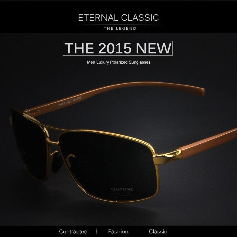 2016 De Sol Gafas Lujo Aluminio Hombres Polarizadas Nuevos orCexBWd