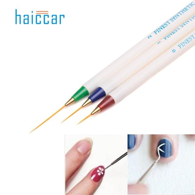 Haicar 3pcsset Professional Nail Art Fashion Design Diy Nail Art