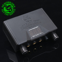 Hoge Kwaliteit Lcd Dual Tattoo Machine Gun Voeding Power Box