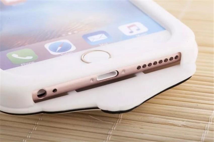 חם מצחיק 3D חיה RIPNDIP כיס חתול Fundas קאפה סיליקון רך לטלפון המקרים כיסוי עבור iPhone 7 7Plus 4S 5 5S 5C SE 6 6 6Plus