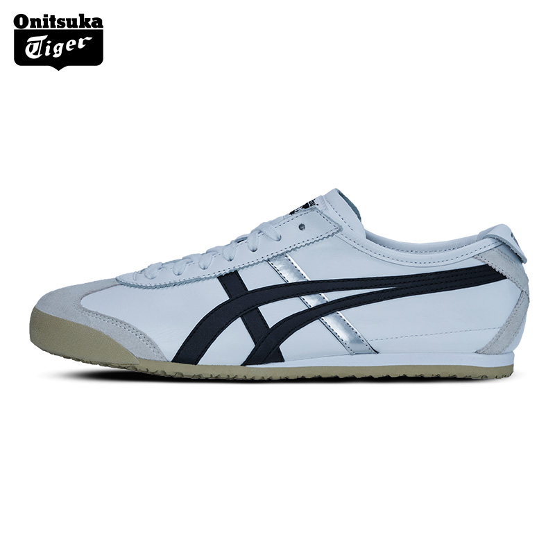 New Onitsuka Tiger MEXICO 66  Men Sport Shoes Classical  Breathable Lovers Shoes Women Sneakers Men Skateboarding  Shoes DL408 peak sport speed eagle v men basketball shoes cushion 3 revolve tech sneakers breathable damping wear athletic boots eur 40 50