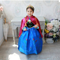 Retail + free shipping!  2015 Girls Princess dress cartoon cosplay girl dress,kids princess dress fancy dress costume