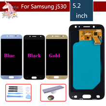 10pcs/lot LCD For SAMSUNG Galaxy J5 2017 LCD Display Touch Screen assembly For Samsung Galaxy J5 2017 J530F J530FN LCD complete 1pc lot free shipping high quality for samsung j5 lcd dispaly lcd screen replacement