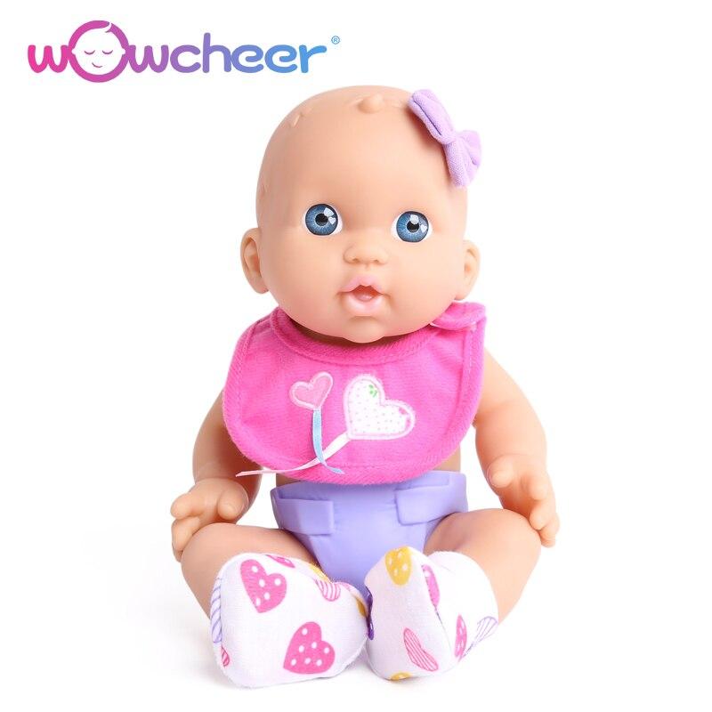 Wowcheer 12 Inch 30cm Soft Vinyl Baby Reborn Dolls Toys